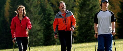 скандинавская ходьба обучение